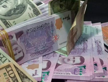 الليرة-السورية والدولار