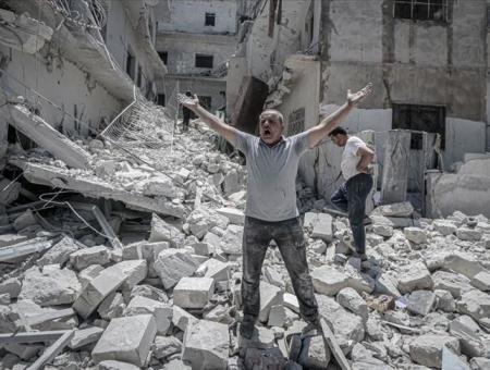 قصف روسي على إدلب