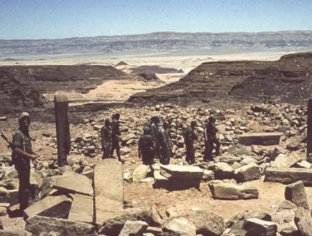 صورة تكشف سرقة إسرائيل لآثار مصرية قبل 50عاماً