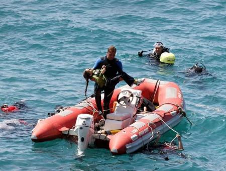 عمليات إنقاذ في البحر المتوسط