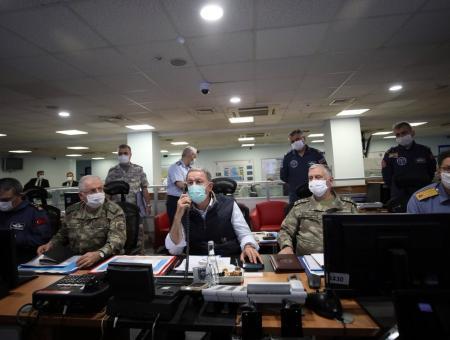 غرفة العمليات العسكرية التركية
