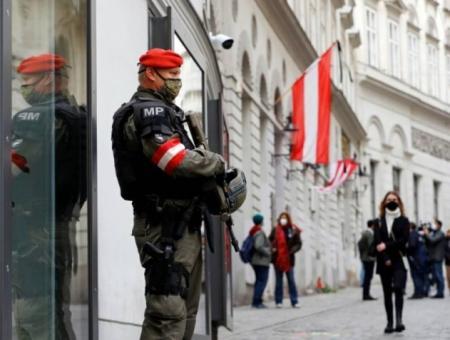 قوات أمن نمساوية
