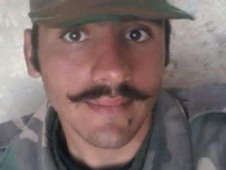 صورة الضابط المقتول