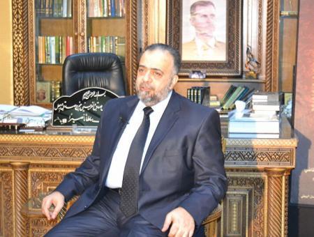 وزير الأوقاف في حكومة النظام  محمد عبد الستار السيد