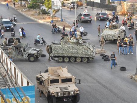 الجيش اللبناني في منطقة خلدة 1 8 2021