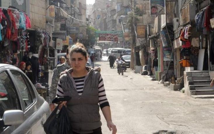 حي الورود في ريف دمشق
