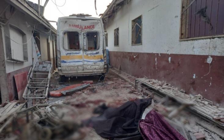قصف مشفى الشفاء في عفرين