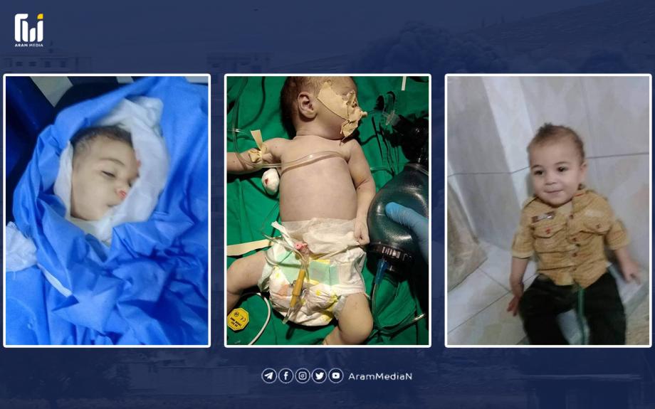 مقتل حامل ونجاة الجنين في قصف للقوات الكردية على عفرين