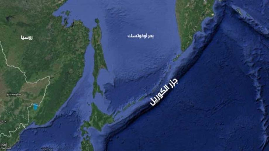 منطقة وقوع الزلزال