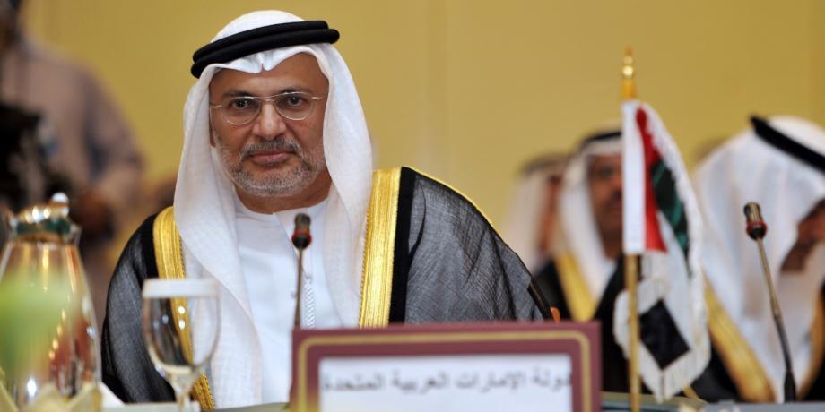وزير الدولة للشؤون الخارجية في الحكومة الإماراتية أنور قرقاش