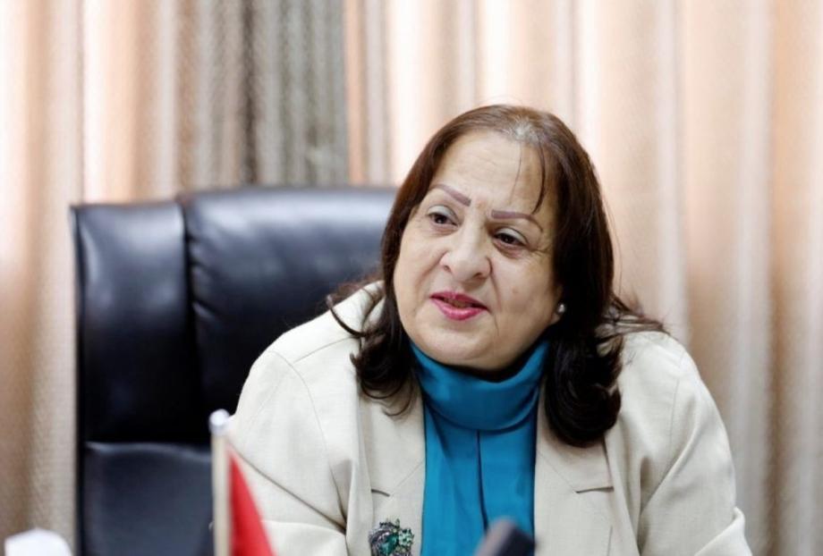 وزير الصحة الفلسطينية مي كيلة
