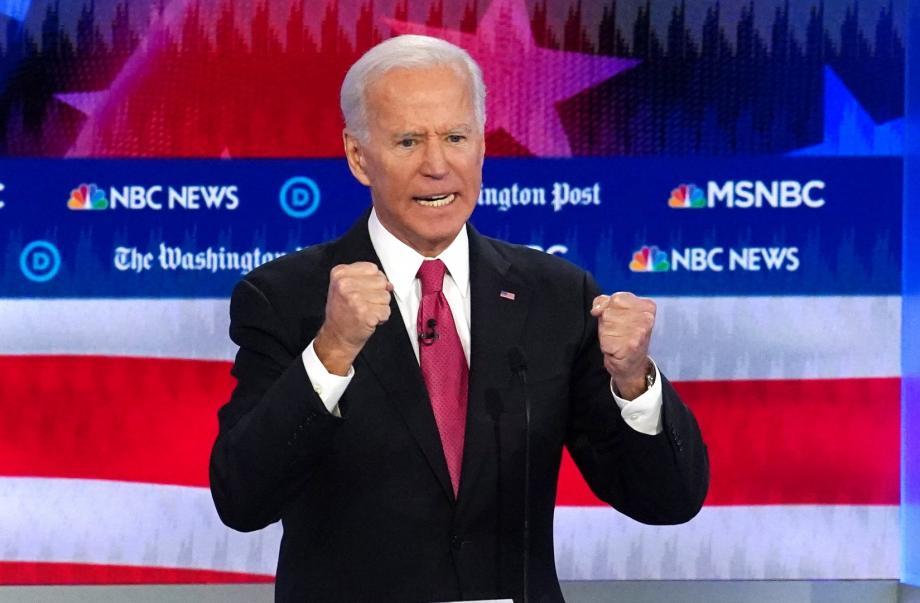 المرشح الديمقراطي للانتخابات الرئاسية الأمريكية جو بايدن