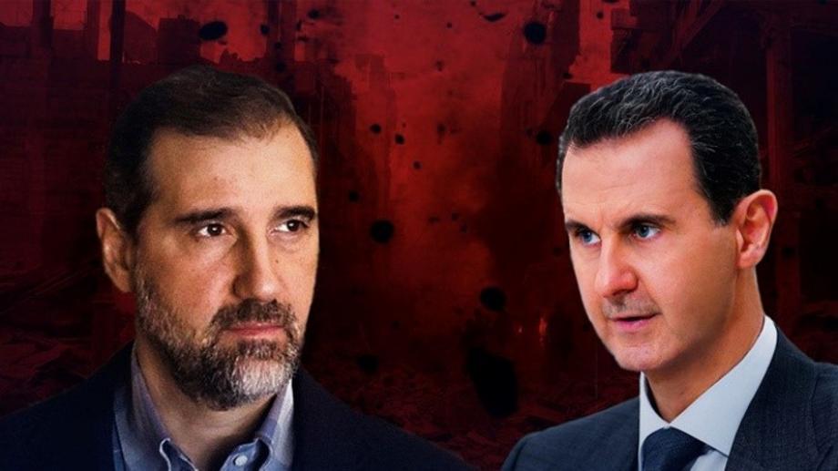 بشار الأسد وابن عمته رامي مخلوف