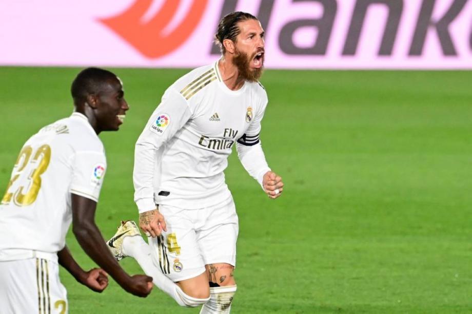 """أعاد""""ريال مدريد"""" نفسه لقمة الدوري، معرصيد68 نقطة."""