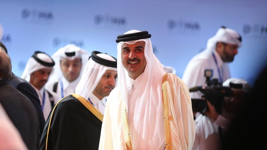 قطر أعربتعن دعمها الكامل للجهود التي يبذلها الشيخ صباح الأحمد الجابر الصباح أمير دولة الكويت