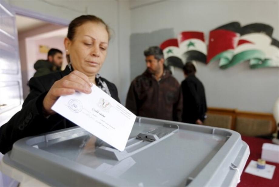 انطلاق النتخابات مجلس الشعب في مناطق نظام الأسد