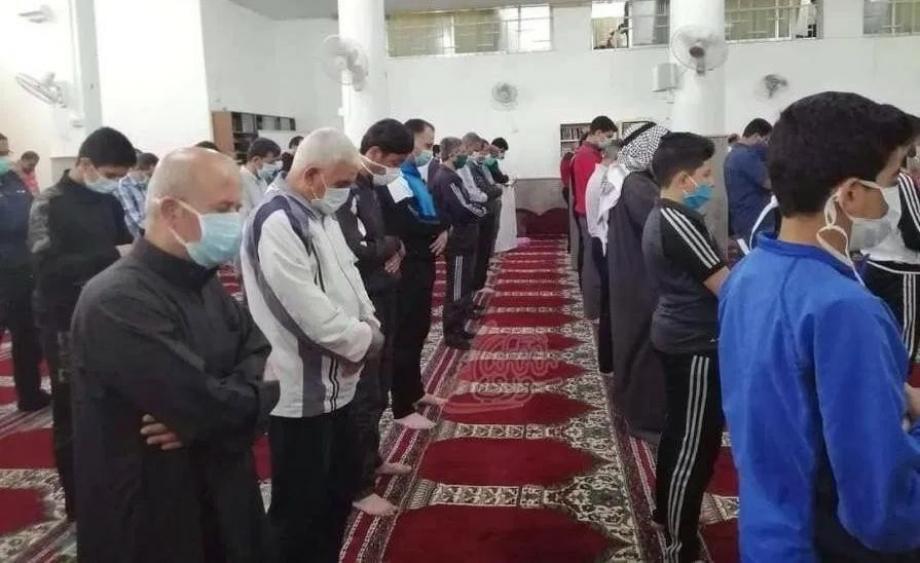 صلاة الجنازة بريف دمشق