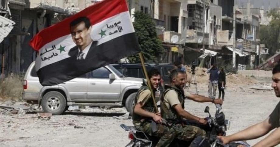 ميليشيات الأسد في دمشق