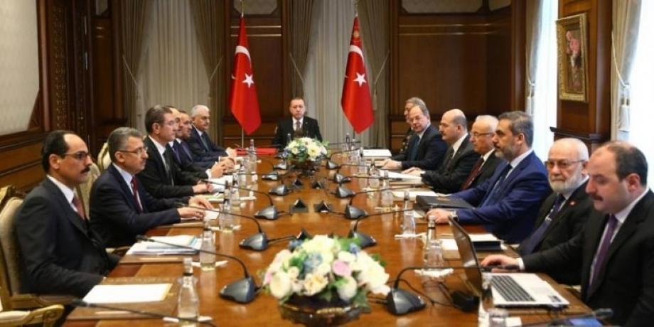 اجتماع سابق للحكومة التركية