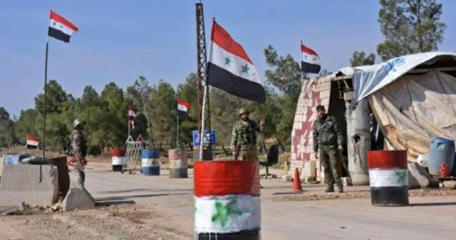 حاجز لميليشيات الأسد