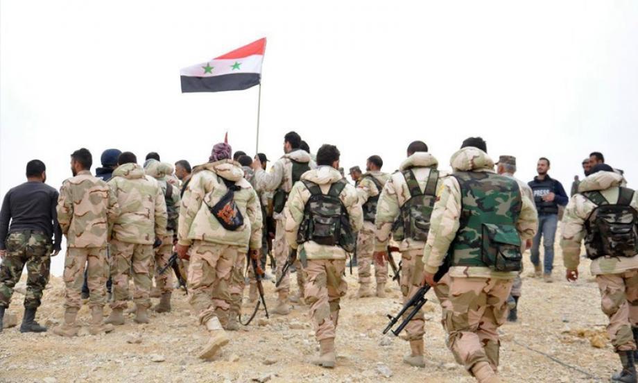 ضباط من ميليشيات الأسد