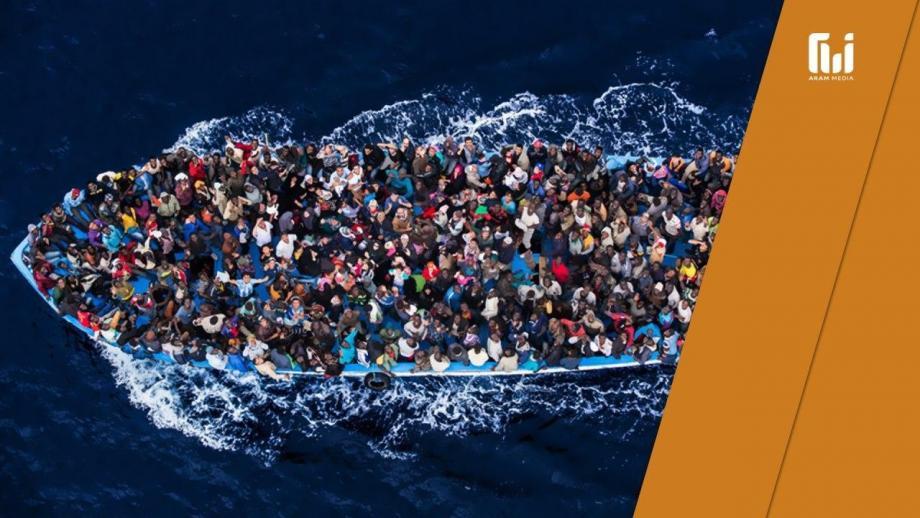 """""""بحرنا"""".. اللاجئ وتحدّي الغرق"""