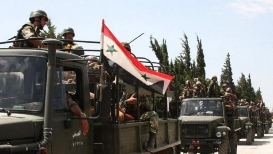 عناصر من جيش نظام الأسد
