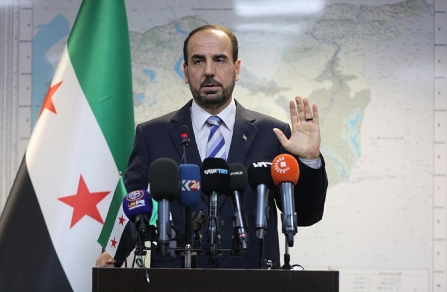 رئيس الائتلاف الوطني لقوى الثورة والمعارضة السورية، د. نصر الحريري