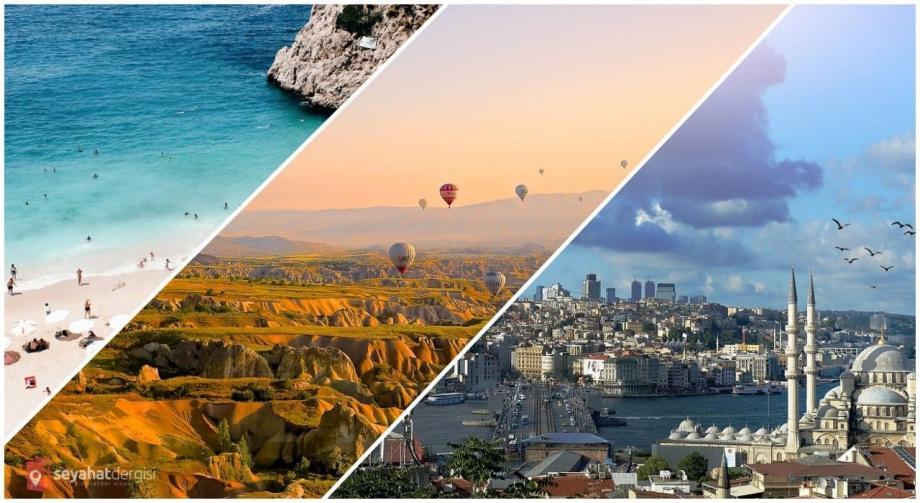تستضيف أراضي الأناضول ملايين السياح