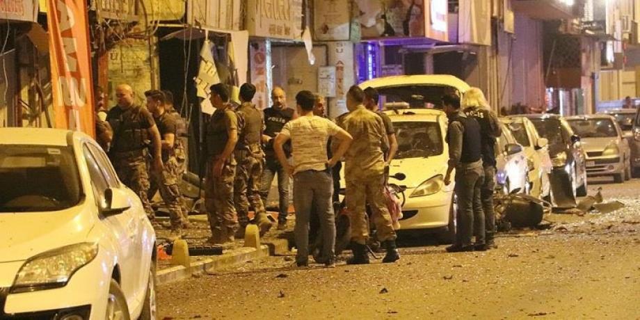 مكان تفجير انتحاري نفسه جنوبي تركيا