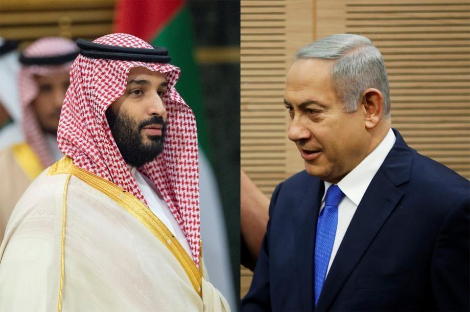 لقاء سري بين نتنياهو وبن سلمان في السعودية