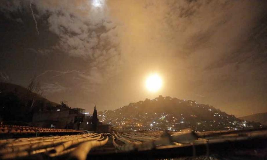 غارات إسرائيلية على محيط دمشق
