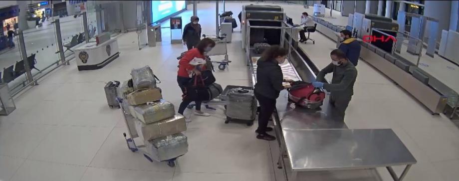 صورة من مطار إسطنبول