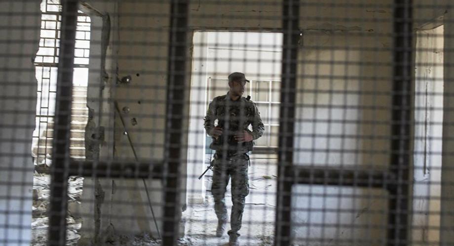 إحدى سجون قسد في سوريا