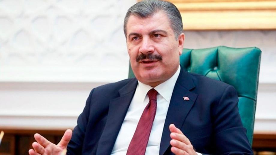 """وزير الصحة التركية """"فخر الدين قوجة"""""""