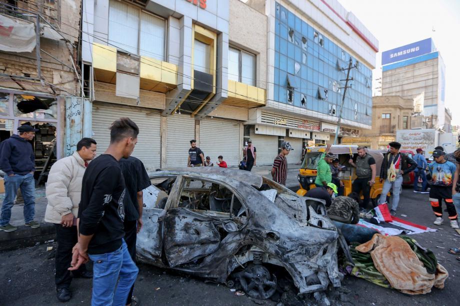 تفجير انتحاري في بغداد