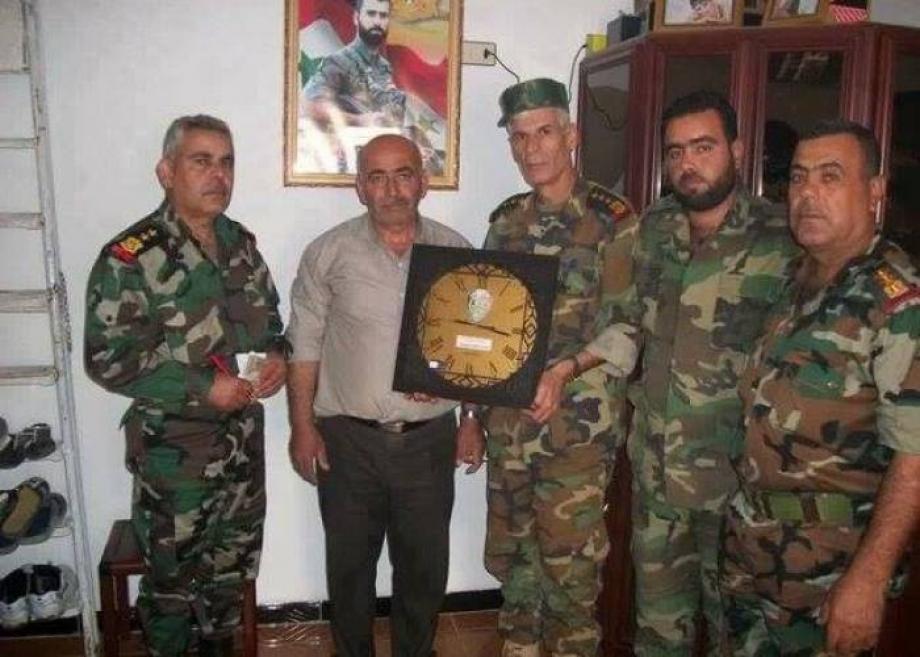 توزيع ساحة حيط على ذوي قتلى ميليشيات الأسد