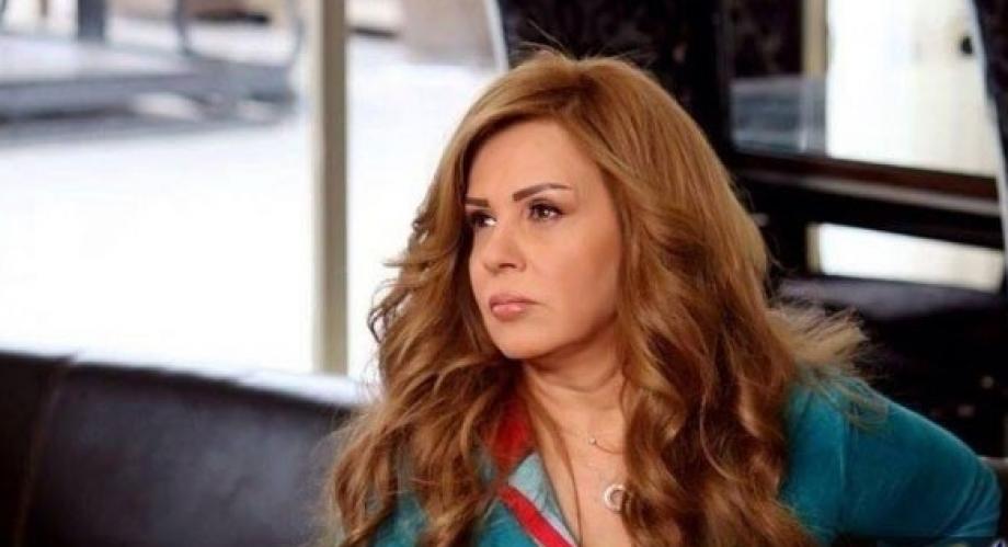 الممثلة السورية الموالية سلمي المصري