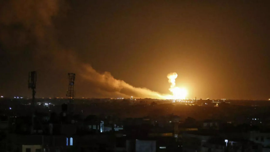 قصف إسرائيلي على مواقع عسكرية لنظام الأسد بريف دمشق