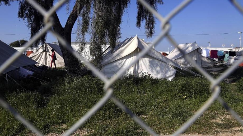 أحد مخيمات قبرص