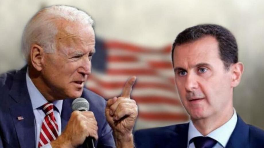 بايدن وبشار الأسد