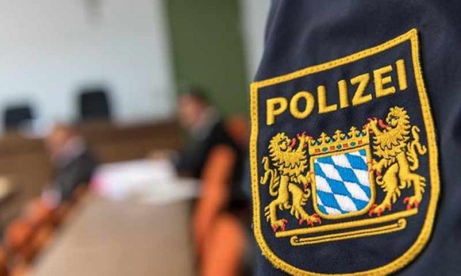الشرطة في أحد المحاكم الألمانية