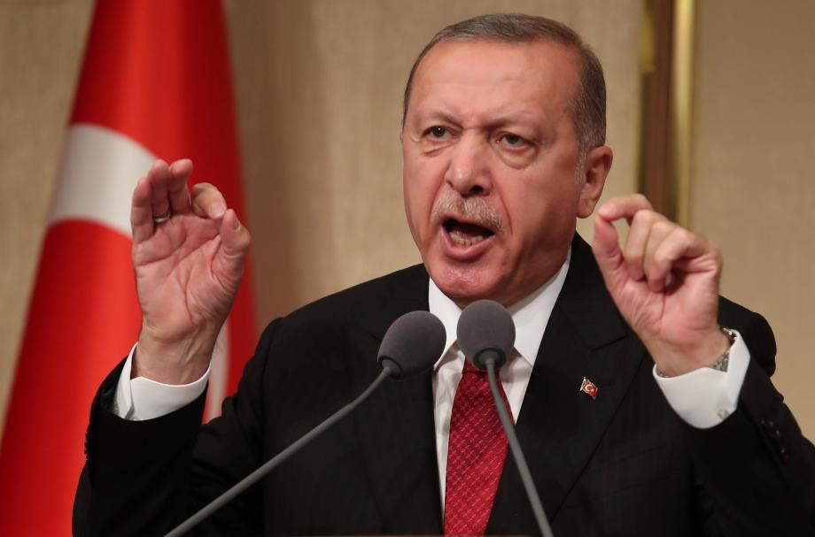 الرئيس التركي رجب طيب أردغان