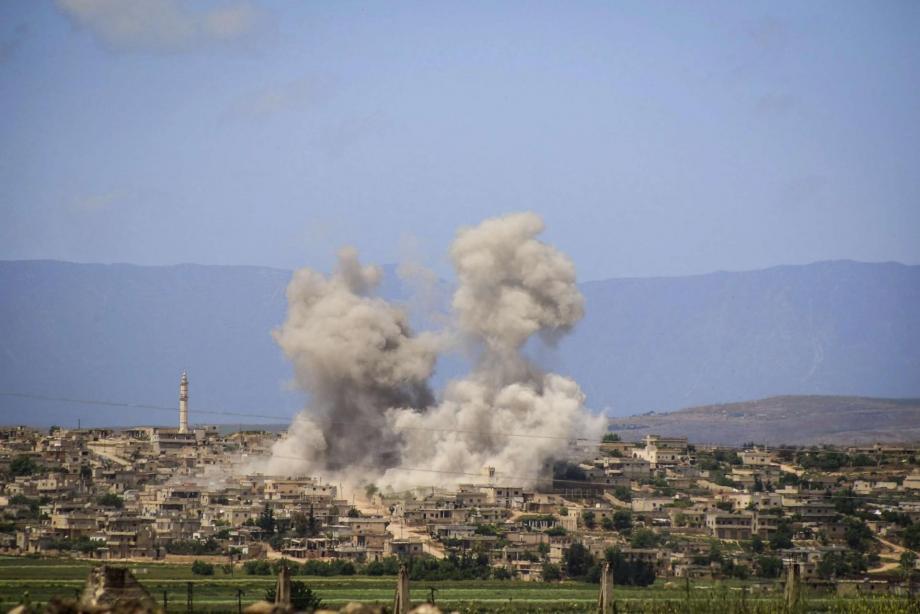 قصف على ريف إدلب