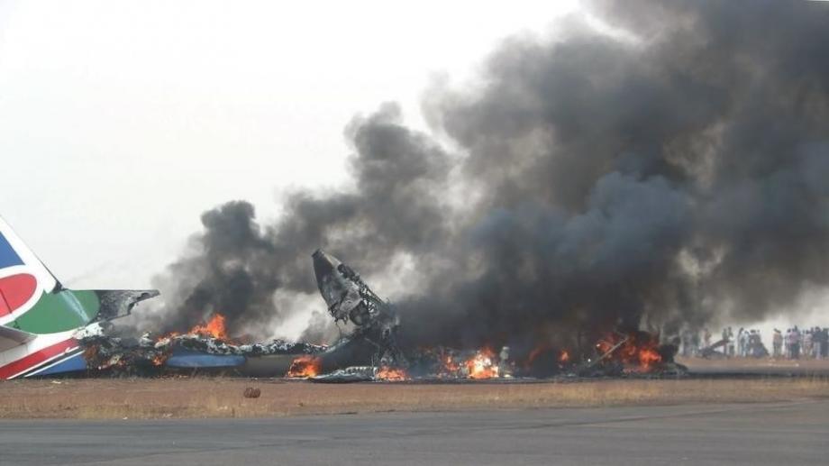 الطائرة تحطمت بعد وقت قصير من إقلاعها