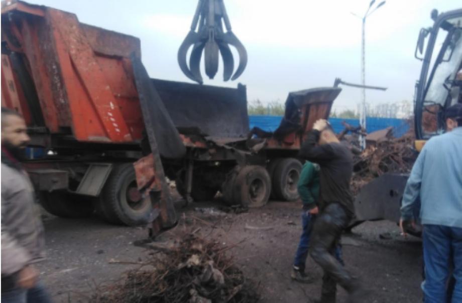 آثار انفجار جسم مشبوه في طرابلس