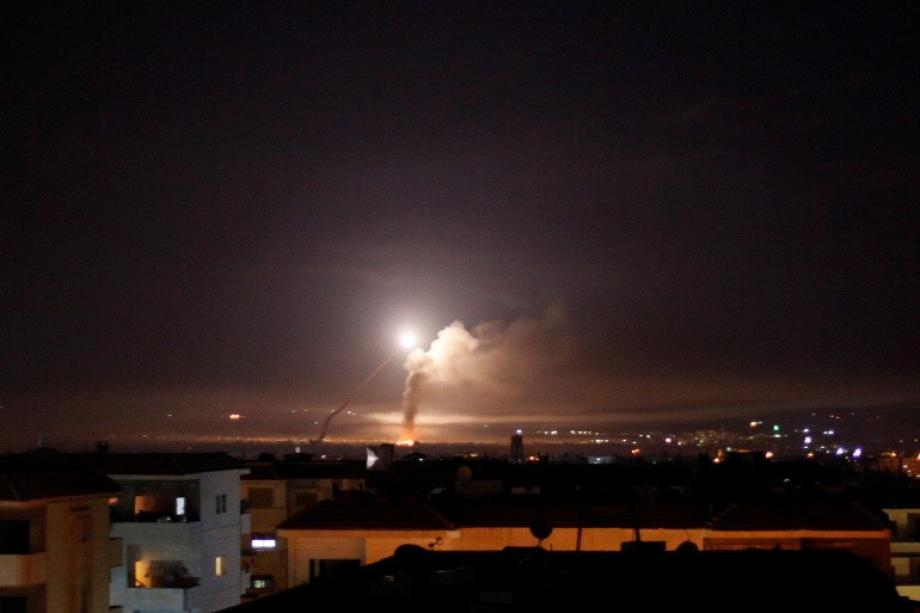 قصف إسرائيلي على دمشق - أرشيف