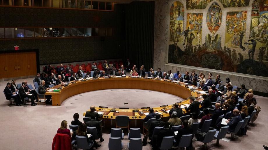 إحدى جلسات مجلس الأمن الدولي مؤخراً