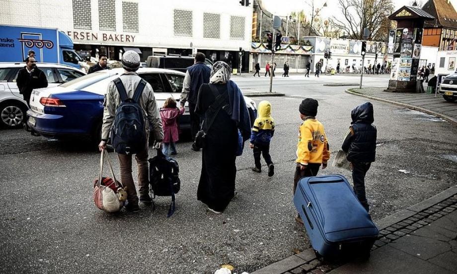 لاجئين سوريين في العاصمة الدنماركية