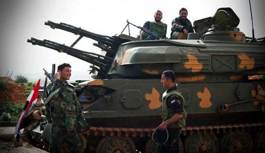 دبابة لميليشيات الأسد